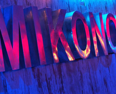 Club ambien gay LGTB Mikonos Bar en Marbella