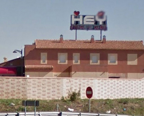 Nightclub Hey You, alterne puticlub en Otero, León