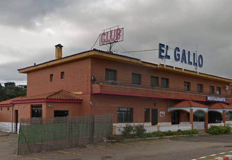 Night Club El Gallo, puticlub en Maillanes, Cáceres