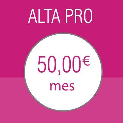 Suscripción Alta PRO, clubs alterne en España